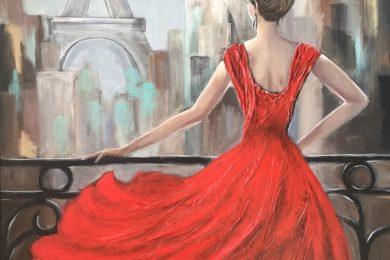 Lakier kolor do paznokci do czerwonej sukienki