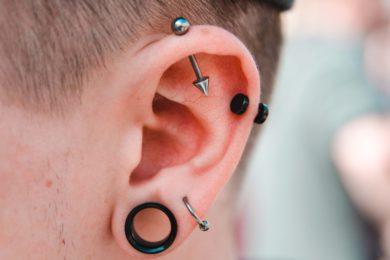 Kolczykowanie - piercing